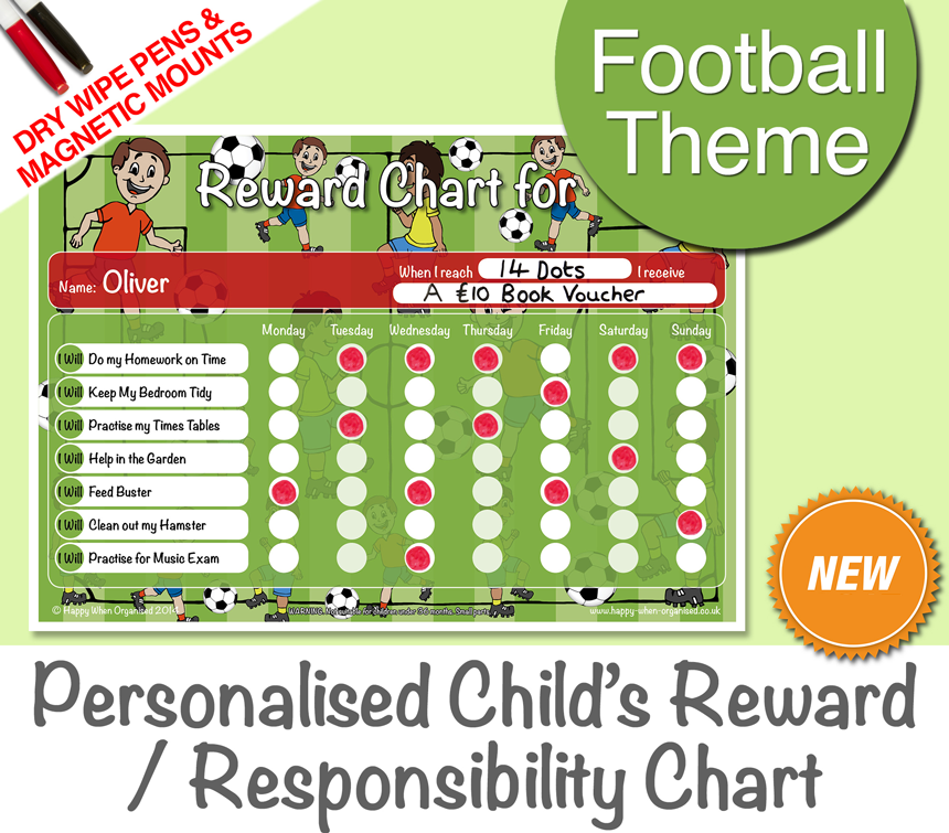 a4behaviourkidsresponsibilityrewardchartfootball